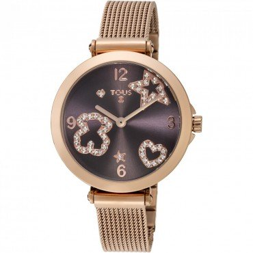 TOUS MESH IP ROSE BROWN - Tous watches - 600350385 - Jewelry and watches Riera in Vallès, Barcelona