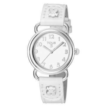 TOUS BABY BEAR SS WHITE - Tous watches - 500350175 - Jewelry and watches Riera in Vallès, Barcelona