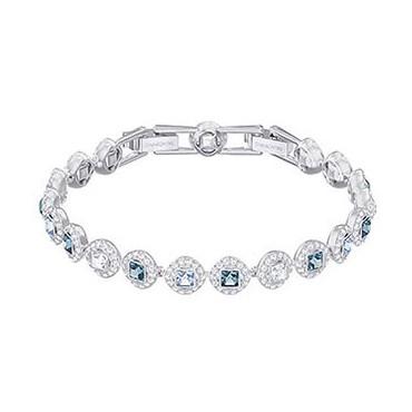 SWAROVSKI ANGELIC SQUARE BRACELET BLUE - Swarovski - 5289514 - Jewelry and watches Riera in Vallès, Barcelona