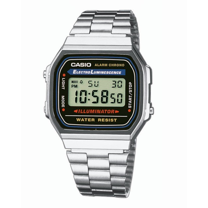 CASIO A168WA-1YES - Casio - 065000005 - Jewelry and watches Riera in Vallès, Barcelona
