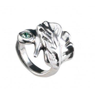 Anillo Hojas ANI0545VRDM - Uno de 50 - ANI0545VRDM - Jewelry and watches Riera in Vallès, Barcelona