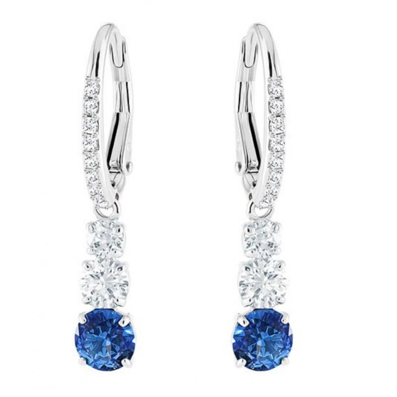 53bbce58a498 Pendientes Swarovski Attract Trilogy Round Pierced Earrings - Swarovski - -  Joyería y relogería Riera en