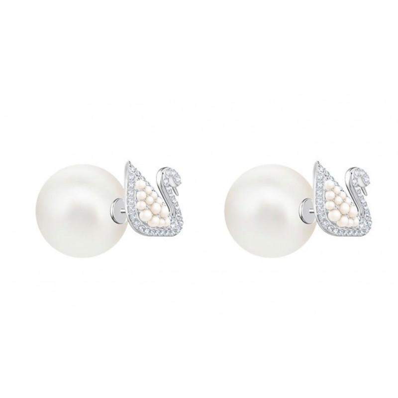 367d8cb3a Pendientes Swarovski Iconic Swan Stud Pierced Earrings - Swarovski -  5416591 - Jewelry and watches Riera