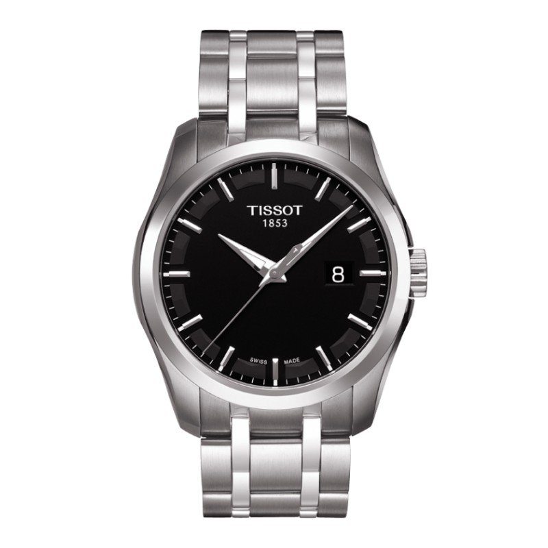 TISSOT COUTURIER GENT T0354101105100 - TISSOT - T0354101105100 - Jewelry and watches Riera in Vallès, Barcelona