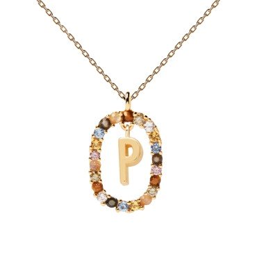 NECKLACE PD LETTER - P - PDPAOLA -  - Jewelry and watches Riera in Vallès, Barcelona